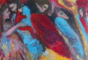 Lina Faroussi Spring Tale2 26x18.2014
