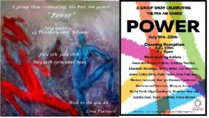 PanAm games -Power. invitation
