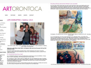 ART TORONTO INTERV.