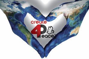 create 4 peace logo