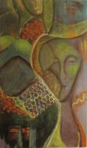 Lina Faroussi Woman 2012 24x40